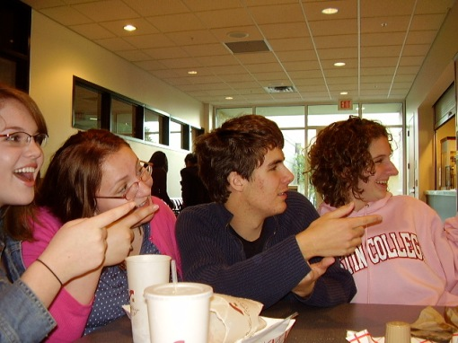 I met each of these people through artificial school-enforced meetings