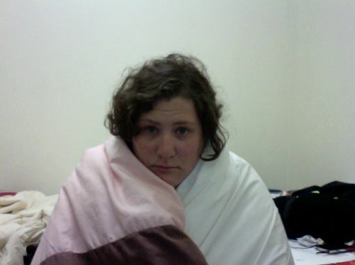 yes, I did take a lot of pictures of myself looking pathetic when I had a cold